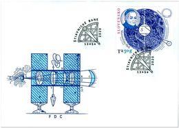 Slovakia 2020 FDC Personalities: Maximilián Hell (1720 – 1792)   Astronomer - Astronomùia