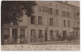 HOTEL & CAFE DU FAISAN : MAISON A. MATHIEU - ECRITE DE SAINT NICOLAS DE (DU) PORT EN 1904 - 2 SCANS - - Caffé