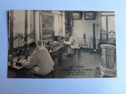43938  - Institut  Sérothérapique   De  Gembloux - Salle De Microscopie - Gembloux