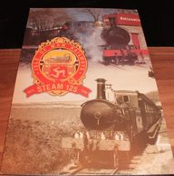 Steam 125, Folder Of 4 Cards - Royaume-Uni