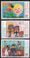Turkey 19856 Children Drawings 3 Values Mi 2735-37 MNH 2008.0871 - Infancia & Juventud