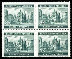 BÖHMEN U. MÄHREN Nr 59 Postfrisch VIERERBLOCK X4A553A - Ungebraucht