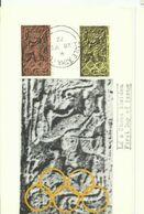 IRELAND 1971  POSTCARD FDI - 1949-... Republic Of Ireland