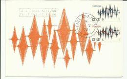IRELAND 1972 EUROPA  POSTCARD FDI - 1949-... Repubblica D'Irlanda
