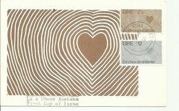 IRELAND 1972 EUROPA  POSTCARD FDI - 1949-... Republic Of Ireland