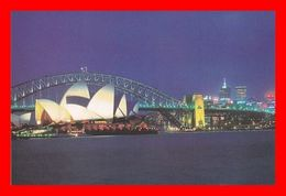 CPSM/gf  SYDNEY (Australie)  Sunset Over The Sydney Opera House...D650 - Sydney