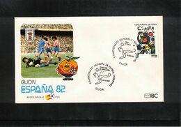 Spain 1982 World Football Cup Spain Interesting Letter - Fußball-Weltmeisterschaft