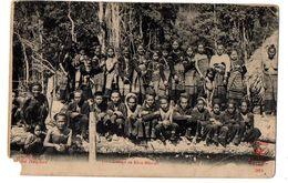 Laos --1915--Groupe De Khas-Mousen...........très Animée ----....à Saisir - Laos