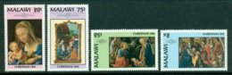 MALAWI 1994 Mi 645-48** Christmas – Religious Paintings [DP401] - Religión