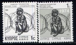 CYPRUS, NO.'S RA4-RA5, MNH - Cyprus (Republic)