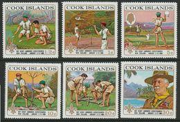 1969Cook Islands212-217Scouts - Pfadfinder-Bewegung