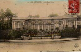 78 YVELINES - CP COLORISEE LE VESINET - LE PALAIS ROSE - PHOTOTYPIE L'ABEILLE PARIS N° 16 - CIRCULEE EN 1930 - Le Vésinet