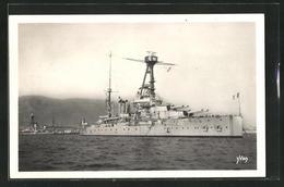 CPA Cuirassé Lorraine, Kriegsschiff Vor Toulon - Guerra
