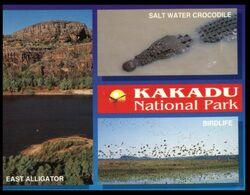 (I 11) Australia - NT - Kakadu NP (wiht Crocdile) With Stamp - Kakadu