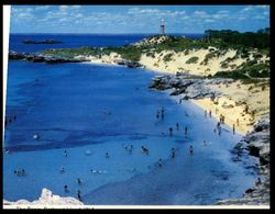 (I 11) Australia - WA - Rottnest Island Basin (W1A) With Lighthouse - Perth