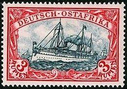 + GERMAN EAST AFRICA / DEUTSCH OSTAFRIKA : Mi #21 Sc #21 Ship / Bateau / Yacht Hohenzollern (1901) MH * Neuf SALE - Kolonie: Duits Oost-Afrika