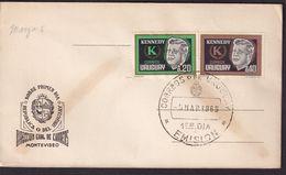 Uruguay - 1965 - FDC - John F. Kennedy - A1RR2 - Kennedy (John F.)