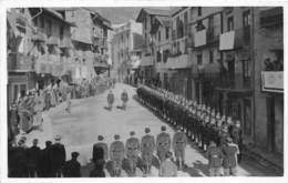ANDORRE - SAN JULIA - CEREMONIE MILITAIRE 1938 - CARTE PHOTO - Andorra