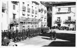 ANDORRE - ANDORRA - CEREMONIE MILITAIRE 11 NOVEMBRE 1937 - CARTE PHOTO - Andorra