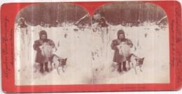 Carte Stéréoscopique 8,7 X 17,5 Cm - Keystone View Company Meadville St-LOUIS - Innocence Abroad, Copyright 1898 - Photos Stéréoscopiques