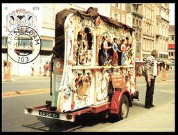 (I 13) EUROPA CEPT - 1981 Maxicard - Netherlands - Musical Organ / Orgue De Rue - Europa-CEPT
