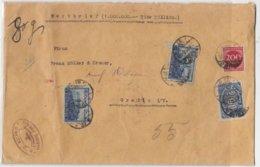 """Deutsches Reich Wertbrief """"1 Million""""mit MIF+versiegelt - Covers"""