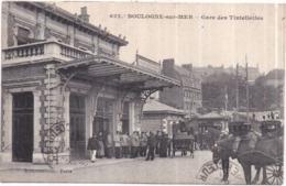 Dépt 62 - BOULOGNE-SUR-MER - Gare Des Tintelleries - E.S. N° 622 - Très Animée - Boulogne Sur Mer
