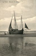 DE PANNE : Barque De Pêcheurs - De Panne