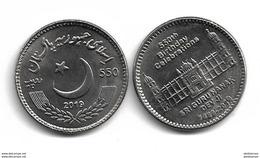 PAKISTAN 2019 COIN 550TH BIRTH DAY CELEBRATION SRI GURU NANAK HIGH VALUE RS 550 - Pakistan