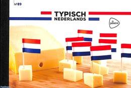 Netherlands 2020 Typical Dutch, Prestige Booklet No. 89, (Mint NH), Food & Drink - Stamp Booklets - Nuovi