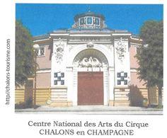 CHALONS EN CHAMPAGNE MARNE - CIRQUE, LE CENTRE NATIONAL DES ARTS DU CIRQUE, PAP ENTIER POSTAL FLAMME NEOPOST 2008, - Zirkus