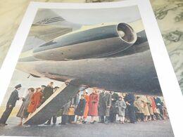 ANCIENNE PUBLICITE REACTEUR ARRIERE DE  CARAVELLE 1958 - Advertising