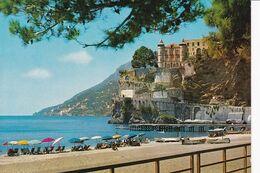 271 MAIORI - CASTELLO MIRAMARE E SPIAGGIA - Salerno