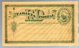 35614 - Entier Réponse Payée - Dominicaanse Republiek