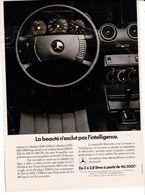 Feuillet De Magazine Mercedes  1976 - Cars