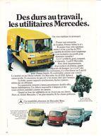 Feuillet De Magazine Mercedes  206.306.508 1973 - Camion