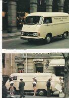 Feuillet De Magazine Mercedes   L 206 D Parfums Rochas 1974 - Camion