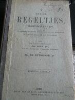 Enige Regeltjes  Handboeksken Voor Studenten Vlaams Moedertaal 1908 Spraakkunst 92 Blz - Bücher, Zeitschriften, Comics