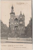 BELGIQUE FLANDRE ORIENTALE WETTEREN CHATEAU DE Mme VEUVE N. BUYSSE  PRECURSEUR - Wetteren