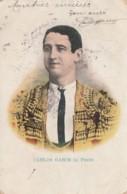 Q20- CORRIDA - TOREADOR - TORERO - ESPANA  - CARLOS  GASCH (a) FINITO - (OBLITERATION DE 1907 - 2 SCANS) - Corrida