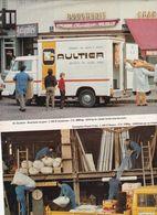 Feuillet De Magazine Mercedes   L 306 D  1974 - Camion