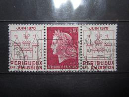 """VEND BEAU TIMBRE DE FRANCE N° 1643 , OBLITERATION """" ST-MALO """" !!! - 1967-70 Marianne De Cheffer"""