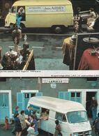 Feuillet De Magazine Mercedes   L 306 D & L 206 D 1975 - Camion