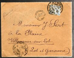 35640 B - D'ISMAILIA Pour La France - 1866-1914 Khedivato Di Egitto