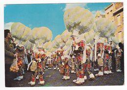 Hainaut Binche Carnaval Les Gilles En 1980 - Binche