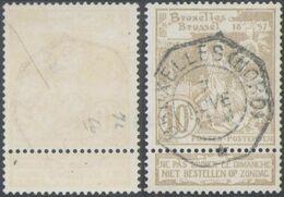 """Expositions - N°72 Obl Télégraphique """"Bruxelles (Nord)"""" - 1894-1896 Exhibitions"""