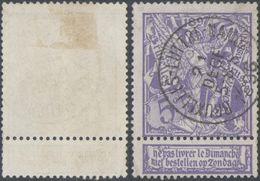 """Expositions - N°71 Obl Ambulant """"Bruxelles - Luttre - Namur"""" - 1894-1896 Exhibitions"""