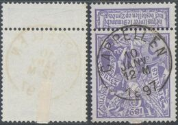 "Expositions - N°71 Obl Simple Cercle ""Cappellen"" - 1894-1896 Exhibitions"