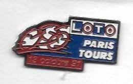 Pin' S  Sport  Cyclisme  Paris 6 Tours  13  Octobre  91  Avec  LOTO - Ciclismo