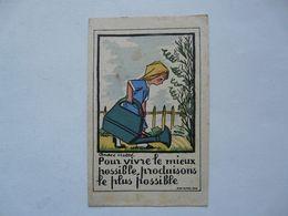 VIEUX PAPIERS - ILLUSTRATION : André HELLE - Old Paper
